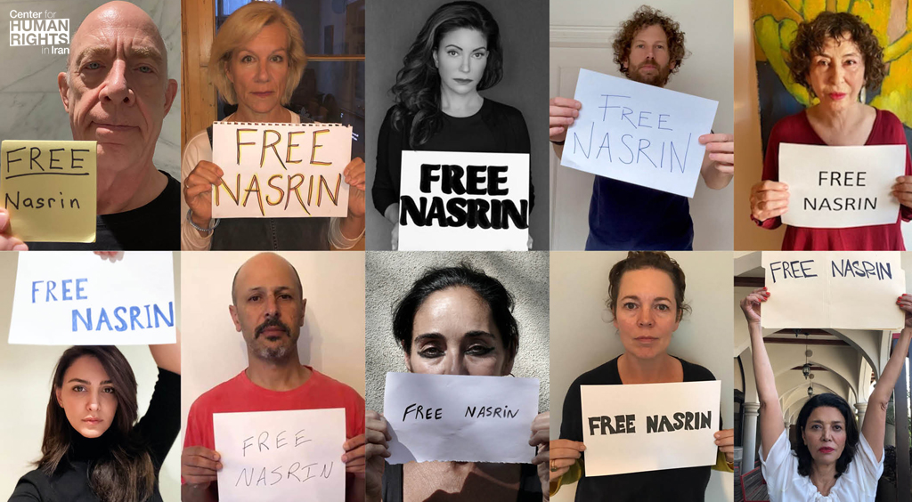 Celebrated artists and authors join online campaign to free imprisoned Iranian lawyer Nasrin Sotoudeh