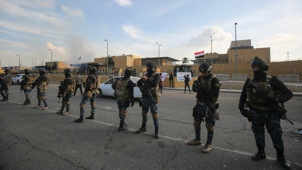 U.S. says it won't 'lash out' after blaming Iran for rocket attack on U.S. Embassy in Baghdad