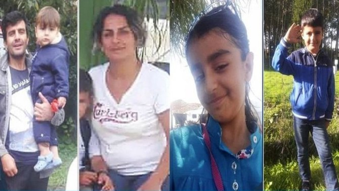 Kurdish-Iranian family who drowned in English Channel crossing named