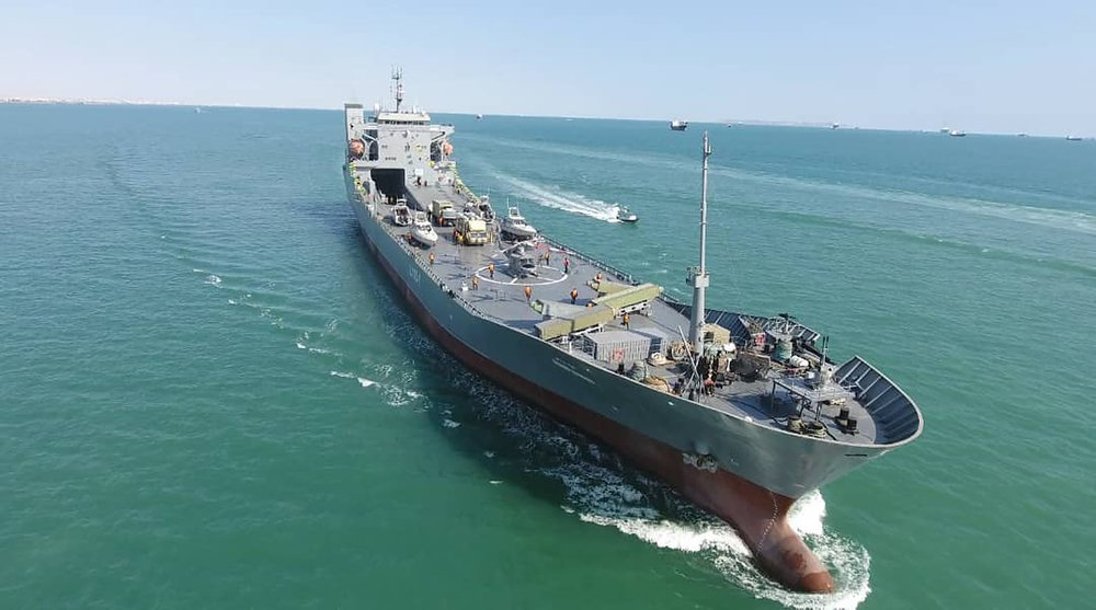 The mystery of the Iranian warship that was an Italian cargo