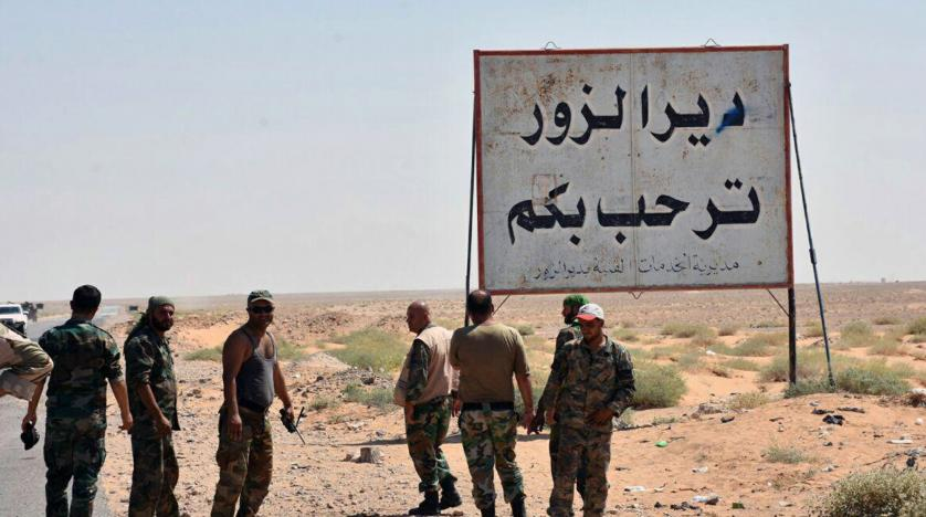Iranian militias set up rocket launchpads west of Euphrates in Syria