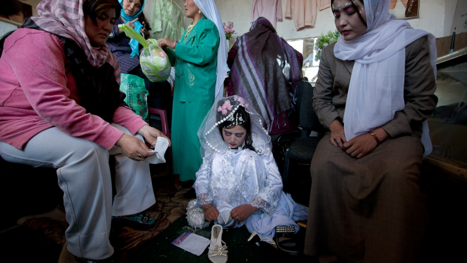 Thousands of young girls married off in Iran in two months