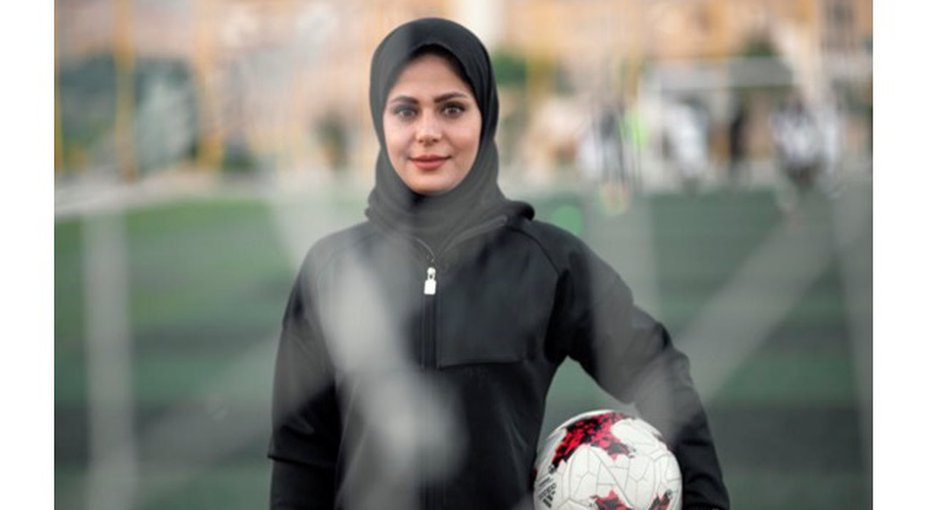 Trailblazing football coach helps vulnerable children into school in Iran