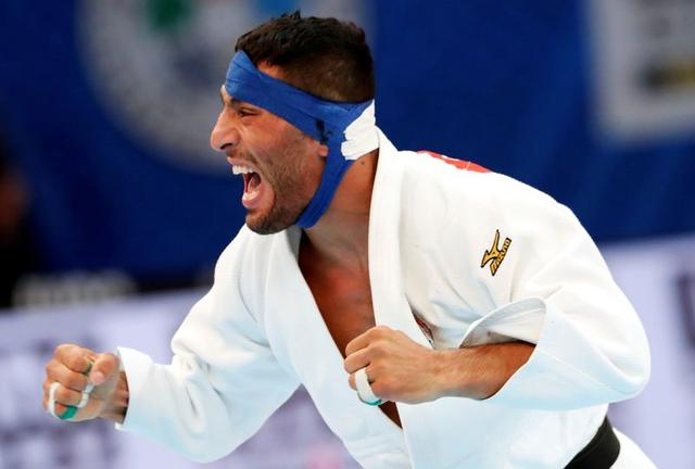 Judoka who fled Iran over Israeli matchup wins silver in Tel Aviv Grand Slam