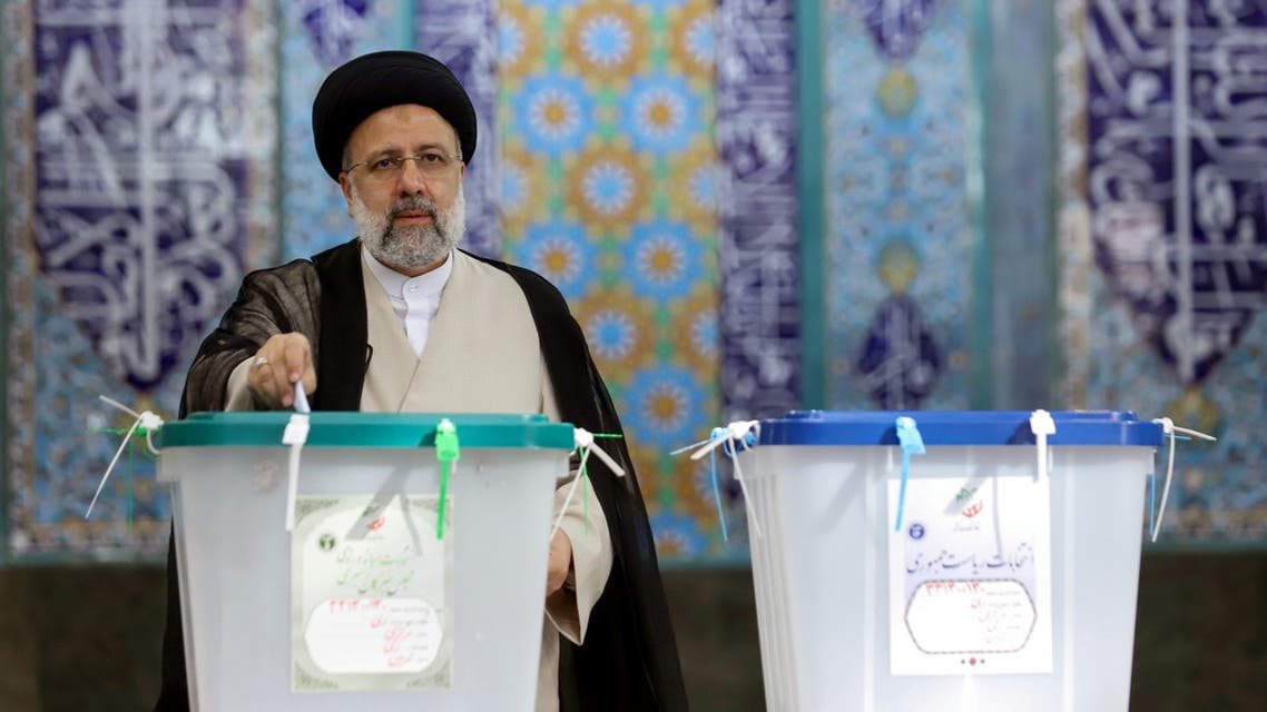 Judge under US sanctions set to win presidency for Iran's hardliners