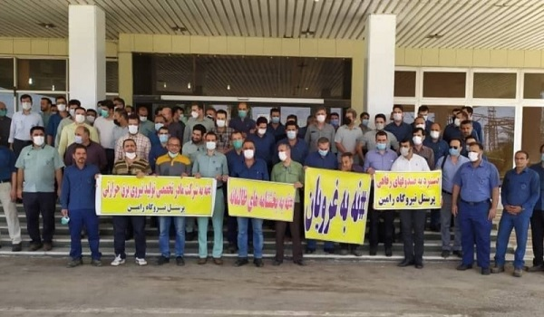 Khuzestan protests continue as unpaid wages throttle workers