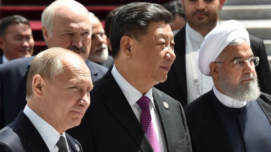 In the real world, China and Russia are turning away from Iran