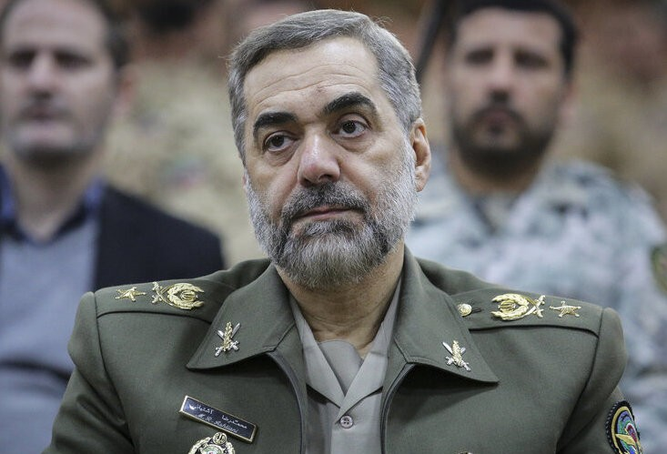 New defense minister says Iran will defend itself against Israeli threats