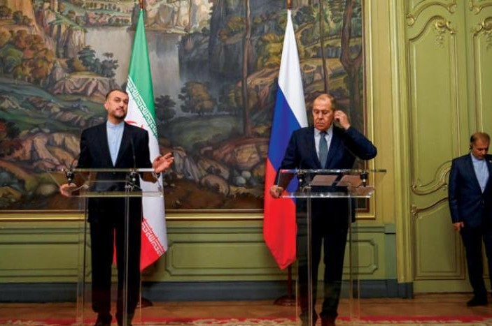 Iran says ready to sign Russia strategic partnership, similar to one with China
